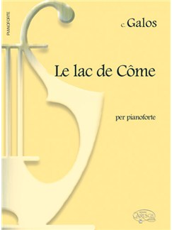 C. Galos: Le Lac de Côme, per Pianoforte Books | Piano
