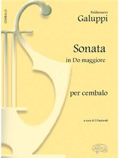 Baldassarre Galuppi: Sonata in Do Maggiore, per Cembalo Books | Harpsichord