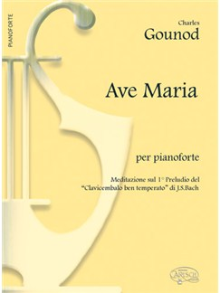 Charles Gounod: Ave Maria, per Pianoforte Books | Piano