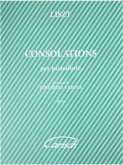 Franz Liszt: Consolations Per Pianoforte Books | Piano