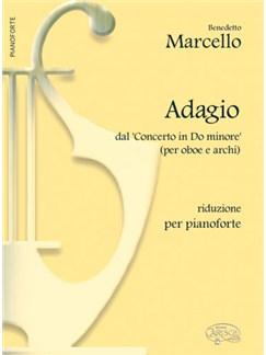 Benedetto Marcello: Adagio, dal Concerto in Do Minore (per Oboe e Archi). Riduzione per Pianoforte Bog | Klaver solo