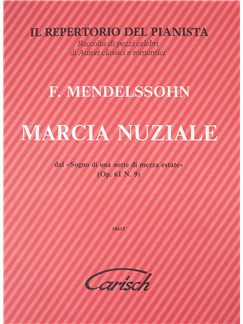 Felix Mendelssohn: Marcia Nuziale Books | Piano