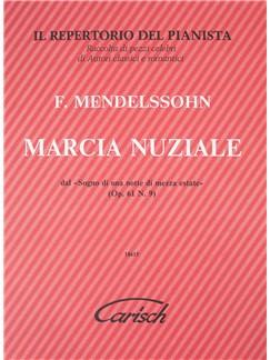 Felix Mendelssohn: Marcia Nuziale Libro | Piano
