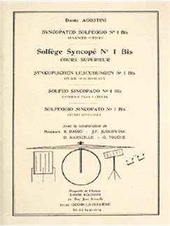 Solfège Syncopé, Volume 1 Bis Books | Drums