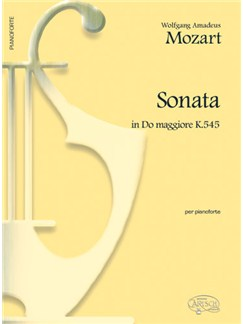 Wolfgang Amadeus Mozart: Sonata in Do Maggiore K.545, per Pianoforte Bog | Klaver solo