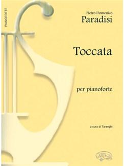 Pietro Domenico Paradisi: Toccata, per Pianoforte Books | Piano