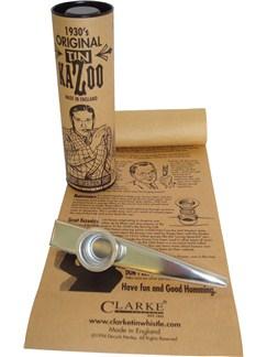 Clarke: Original Tin Kazoo - Silver Colour  | Kazoo
