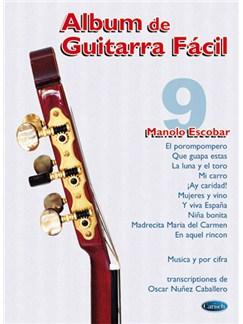 Album de Guitarra Fácil N.09 - Manolo Escobar Books | Guitar