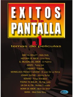 Éxitos de la Pantalla N.1 - Temas de Películas Books | Piano, Vocal & Guitar