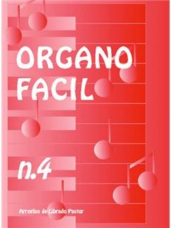 Órgano Fácil N.4 Books | Organ
