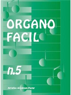Órgano Fácil N.5 Books | Organ