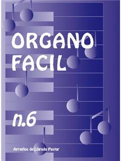 Órgano Fácil N.6 Books | Organ