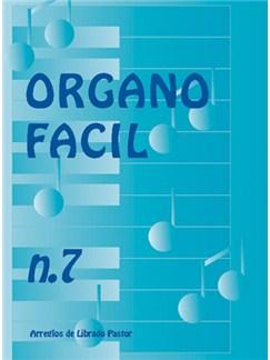 Órgano Fácil N.7. Éxitos de Francias Books | Organ