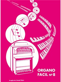 Órgano Fácil N.8 Books | Organ