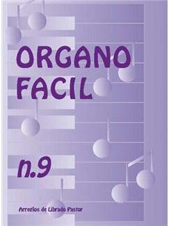 Órgano Fácil N.9. Tangos Books | Organ