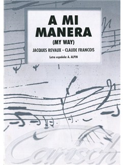 A Mi Manera Libro | Piano & Vocal