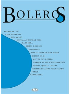 Boleros Books | Piano, Guitar