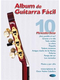 Album De Guitarra Fácil N.10 - Mercedes Sosa Books | Guitar