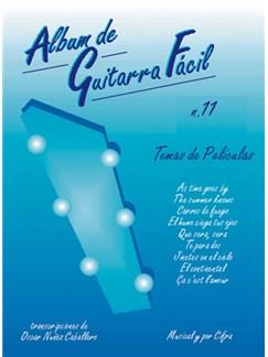 Album de Guitarra Fácil N.11 - Temas de Peliculas Books | Guitar