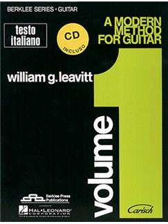 A Modern Method for Guitar, Volume 1 + CD (Testo Italiano) Books and CDs | Guitar