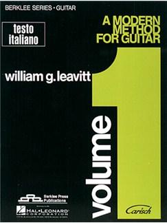 A Modern Method for Guitar, Volume 1 (Testo Italiano) Books | Guitar
