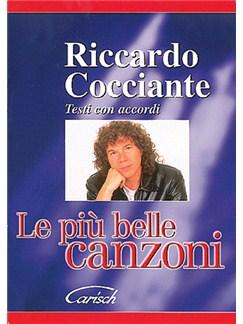Riccardo Cocciante: Le Più Belle Canzoni Books | Lyrics & Chords