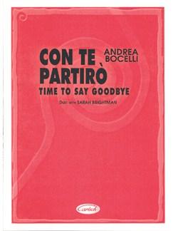 Andrea Bocelli: Con Te Partirò (Time To Say Goodbye) Books | Piano & Vocal