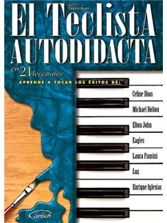 El Teclista Autodidacta, en 21 Lecciones Libro | Keyboard
