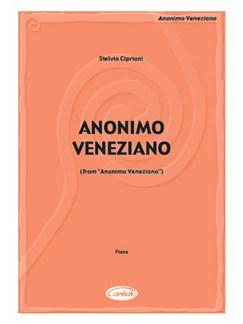 Stelvio Cipriani: Anonimo Veneziano (from Anonimo Veneziano) Books | Piano