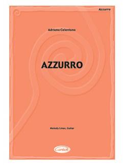Adriano Celentano: Azzurro Books   Guitar