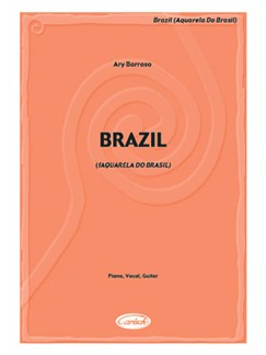 Brazil (Aquarela Do Brasil) Books | Piano, Vocal & Guitar