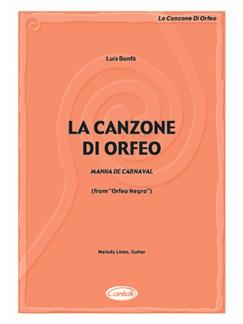 Bonfa La Canzone Di Orfeo Ml/Gtr Books |