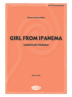 Antonio Carlos Jobim: The Girl From Ipanema Books | Piano & Vocal