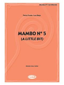 Bega Mambo No5 A Little Bit Ml/Gtr Books | Piano