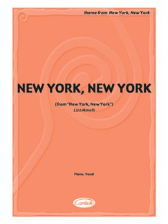 New York, New York (from New York, New York) Books | Piano & Vocal