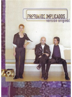 Presuntos Implicados: Versión Original Books | Piano, Vocal & Guitar