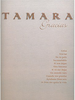 Tamara: Gracias Libro | Piano, Vocal & Guitar