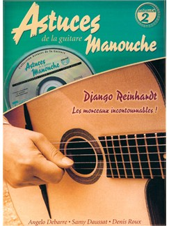 Astuces De La Guitare Manouche - Volume 2 Django Reinhardt (Book/CD) CD y Libro | Guitarra