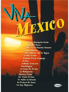 Viva Mexico Books | Piano, Vocal & Guitar