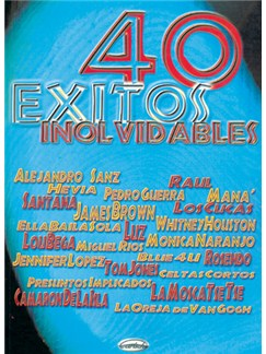 40 Éxitos Inolvidables Books | Piano, Vocal & Guitar