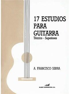 17 Estudios Para Guitarra Libro | Guitar