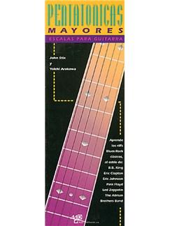 Escalas Pentatónicas Mayores para Guitarra Libro | Guitar