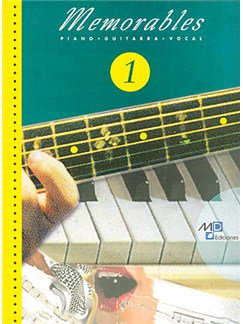 Memorables 1 Libro | Piano, Vocal & Guitar