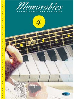 Memorables 4 Books | Piano, Vocal & Guitar