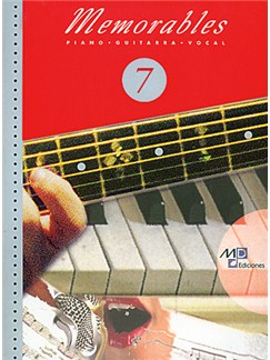 Memorables 7 Libro | Piano, Vocal & Guitar
