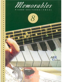 Memorables 8 Books | Piano, Vocal & Guitar