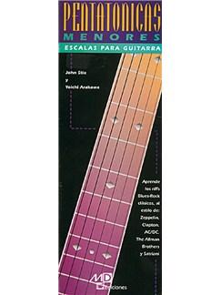 Escalas Pentatónicas Menores para Guitarra Libro | Guitar