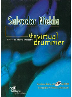 The Virtual Drummer CD-Roms / DVD-Roms y Libro | Drums