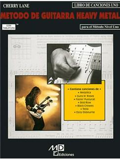 Método de Guitarra Heavy Metal: Libro de Canciones 1 Libro | Guitar Tab