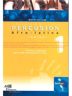 Método de Percusion Afro-Latina (Salsa) CD y Libro | Percussion